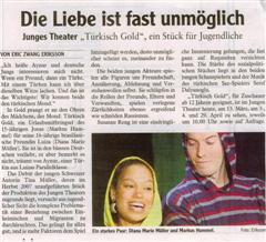 Pressekritik Türkisch Gold (Augsburger Allgemeine)